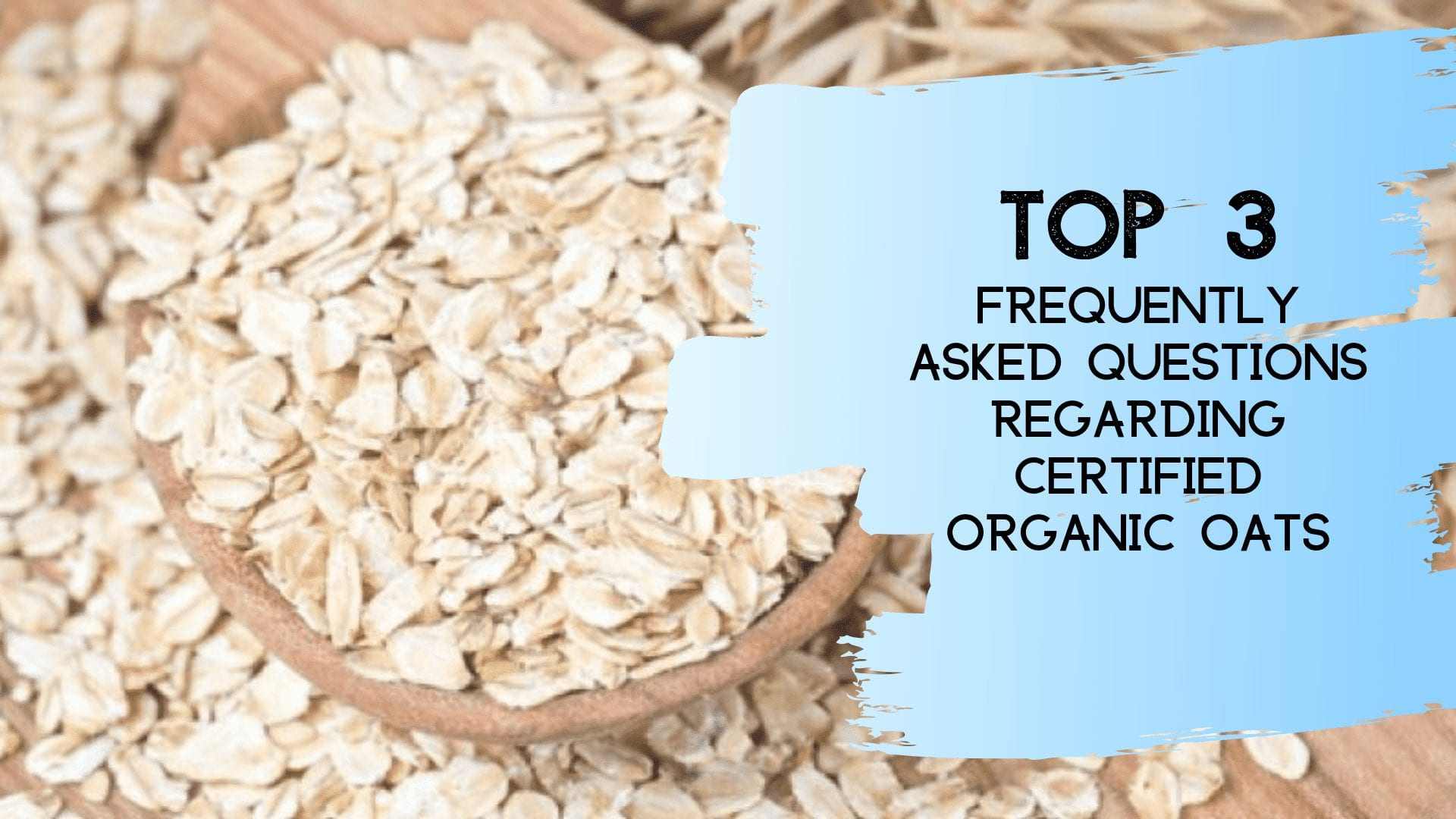 Certified Organic Uncontaminated Oats