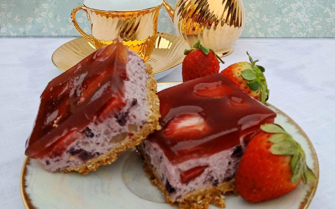 Decadent Berry Slice