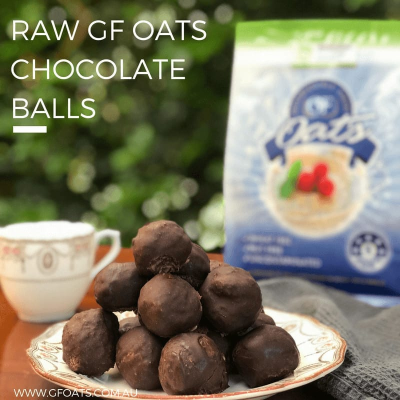 Oats Chocolate Balls
