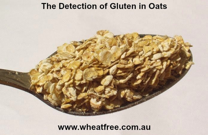The Detection of Gluten in Oats
