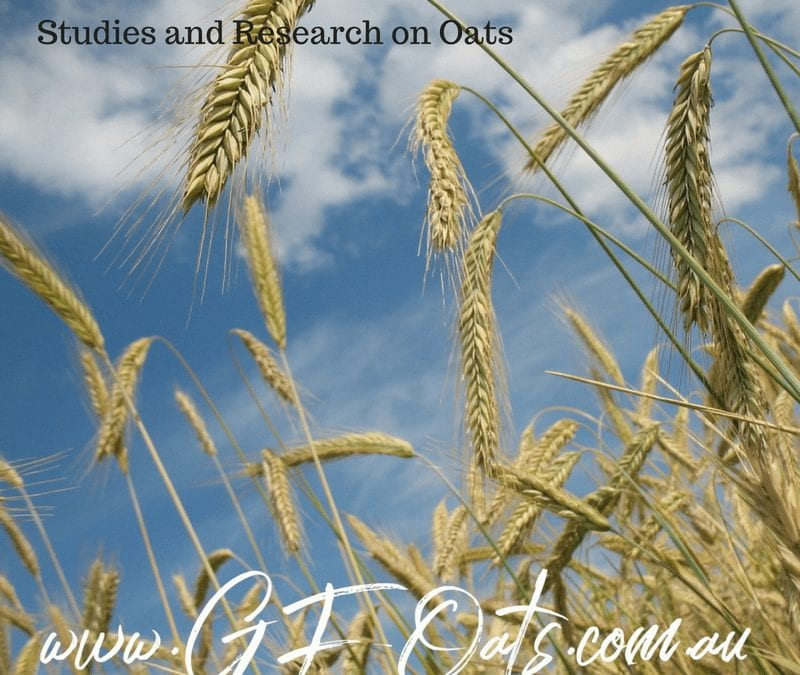 Research References on oats