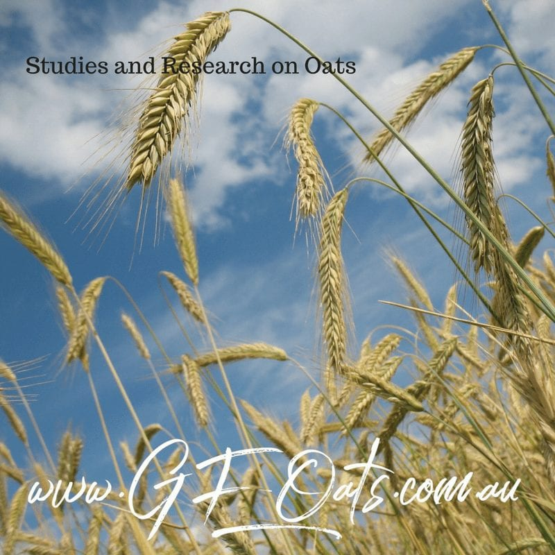 GF Oats | Studies and Research on Oats