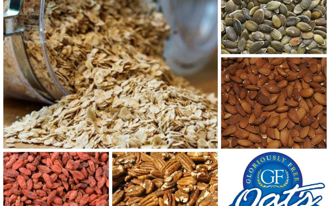 Superfoods and Wholefoods to Add to Make A Super Raw Muesli