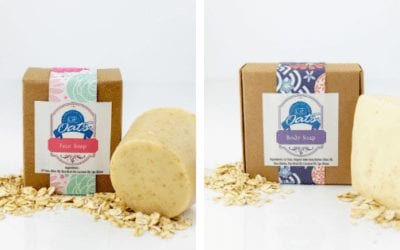 GF Oats – Oat Soap our gluten-free soap range