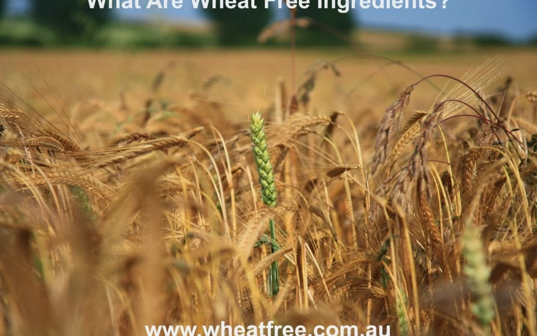 What are Wheat Free Ingredients?