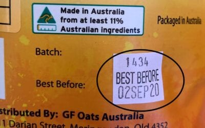 GF Oats uses Batch numbers and Best Before Dates – what does that mean?