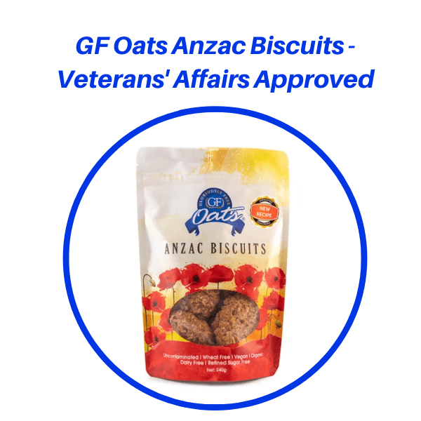 GF Oats Anzac Biscuits – Veterans' Affairs Approved