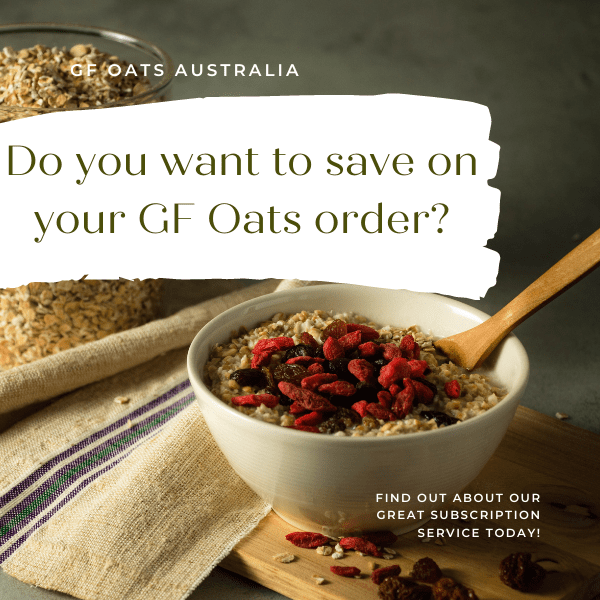Are you interested in knowing how to save 15% on your GF Oats Order with our Subscription Service?