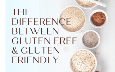 The difference between Wheat Free, Gluten Free and Gluten Friendly