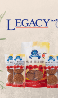 GF oats supporting and donating to Legacy Australia